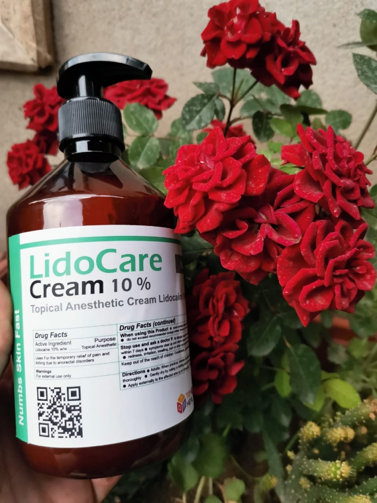 Lidocare Cream 10% Local Aneasthesia  TOP HEALTH