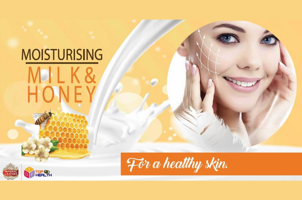 Imperial Leather Milk & Honey TOP HEALTH
